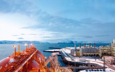 Faszination Energie: Erdgasverflüssigungsanlage auf der Insel Melkøya bei Hammerfest
