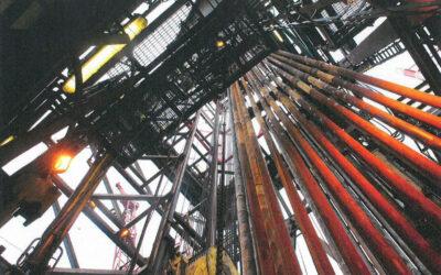 """Faszination Energie: Offshore-Bohranlage der Plattform """"Maersk Gallant"""""""