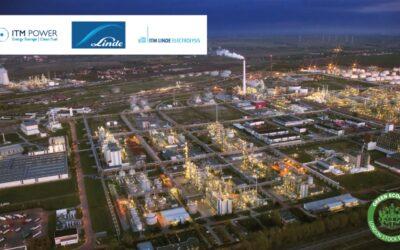 Weltgrößte PEM-Elektrolyseanlage von Linde und ITM Power für Chemiepark Leuna
