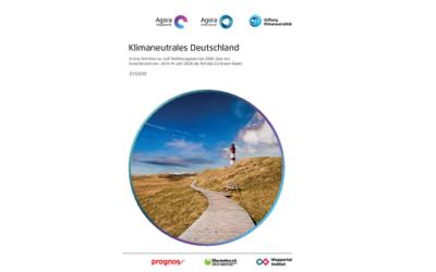 """Vollversion der Studie """"Klimaneutrales Deutschland"""" erschienen"""