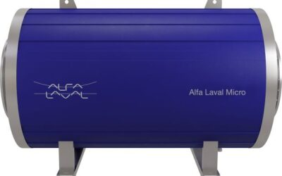 Alfa Laval Micro für die Wärmerückgewinnung aus Abgasen