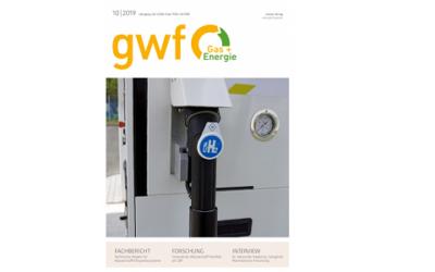 gwf Gas + Energie Ausgabe 10-19 zum Zukunftsthema Wasserstoff erschienen