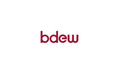 BDEW begrüßt 17 neue Mitgliedsunternehmen
