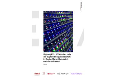Studie Digital@EVU 2020: Energieversorger planen höhere Investitionen in Digitalisierung