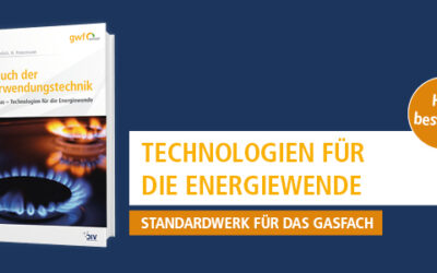 Jetzt vormerken: Handbuch der Gasverwendungstechnik