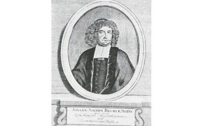 Forscherpersönlichkeiten: Dr. Johann Joachim Becher – erste Versuche und Vorschläge zur Verwendung von Gas