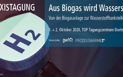 """Praxistagung """"Von der Biogasanlage zur Wasserstofftankstelle"""""""