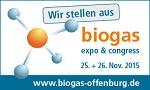 Kongressprogramm Biogas 2015 zur konkreten Marktentwicklung