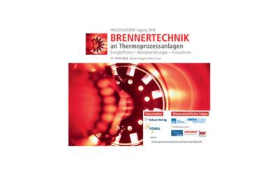 """9. Prozesswärme-Tagung """"Brennertechnik an Thermoprozessanlagen"""""""