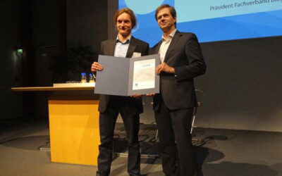DBFZ-Wissenschaftler Mathias Stur gewinnt 10. Biogas-Innovationspreis der Deutschen Landwirtschaft 2017