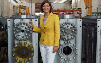 Kompressoren: Stefanie Peters stützt den Nationalen Wasserstoffrat