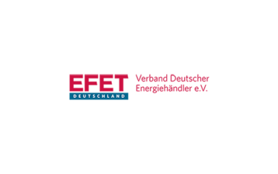 """Empfehlung von EFET Deutschland zu den offiziellen """"Übergangsregelungen zur Marktgebietszusammenlegung"""""""