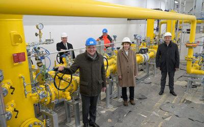 ESWE stellt Gashochdruckleitung fertig