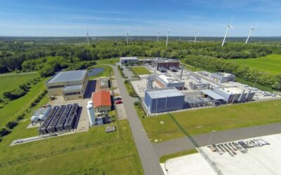 EWE plant Test-Kaverne für Wasserstoffspeicherung