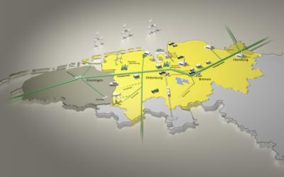 Wasserstoff-Kooperation zwischen EWE und Gasunie