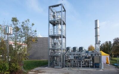 Erstmals in der Schweiz erneuerbares Methan mittels Urbakterien hergestellt und eingespeist