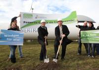 Erster Spatenstich für Einspeisung von Windgas in Prenzlau