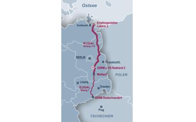 Fachbericht: EUGAL-Ferngasleitung: Inbetriebnahme des Strang 1
