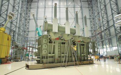 Faszination Energie: Transformator für HGÜ-Projekte