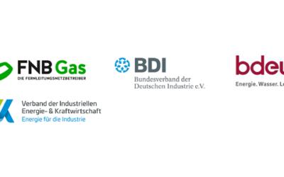 Wirtschafts- und Energieverbände legen konkrete Vorschläge für neuen Wasserstoffmarkt vor