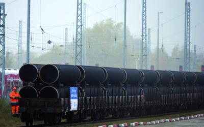 Faszination Energie: Erste Nord Stream 2-Rohre erreichen Mukran