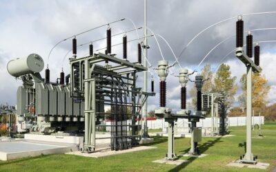 Faszination Energie: Transformator Umspannwerk Freiberg