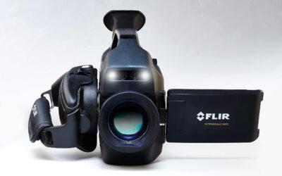 Wärmebildkamera zur optischen Gasdetektion