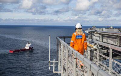 Faszination Energie: Arbeiten auf hoher See