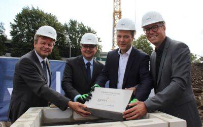 GWI legt Grundstein für neues Schulungs- und Verwaltungsgebäude / Investition von 7 Mio €