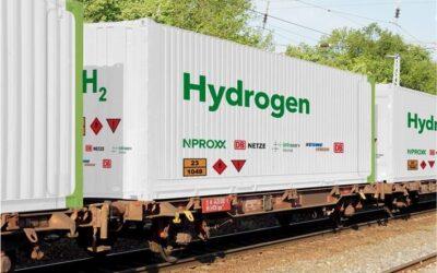 Klimafreundlicher Wasserstofftransport auf der Schiene soll Standard werden