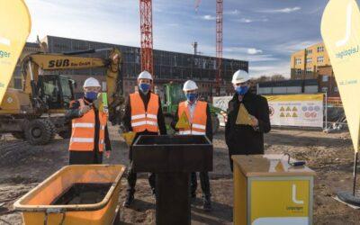 Erdgas als Übergangstechnologie: Grundsteinlegung für HKW Leipzig Süd