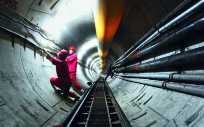 Faszination Energie: Tunnel für eine Gaspipeline