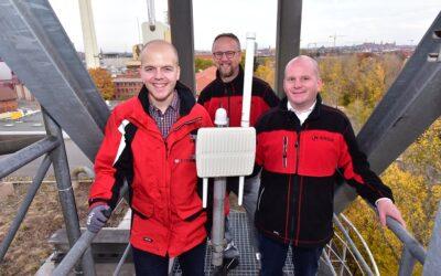 Thüga SmartService rollt Smart City-Funknetzwerke aus