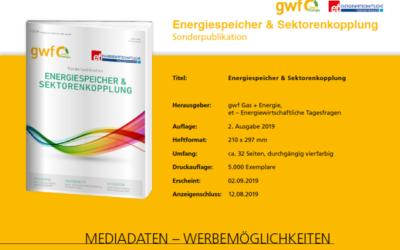 """Mediadaten """"Energiespeicher & Sektorenkopplung"""" – Ausgabe 2/19"""