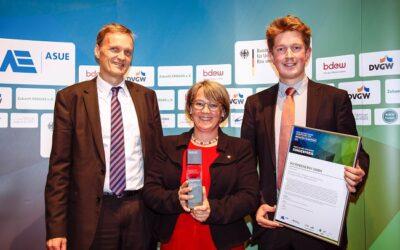 MicrobEnergy erhält Sonderpreis der Deutschen Gaswirtschaft