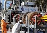 Erste interne Inspektion der Pipeline abgeschlossen