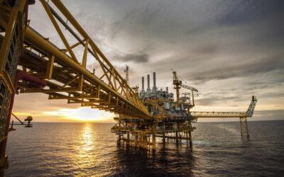 Faszination Energie: Produktionsplattform auf See