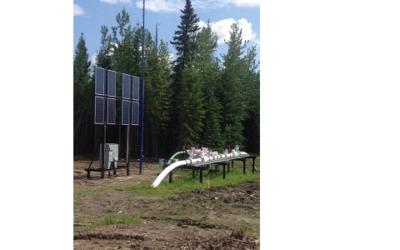 Hybridsystem mit 500 W Brennstoffzelle für Pipelineanwendungen