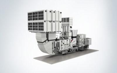 Aero-derivative Gasturbine für die Öl- und Gasindustrie
