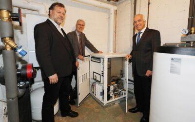 Neues Brennstoffzellen-Pilotprojekt von STAWAG und Wingas