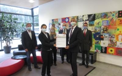 Storengy Deutschland Betrieb GmbH erhält DVGW-Zertifizierung