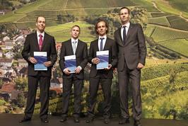 DVGW-Studienpreis Gas 2014 verliehen