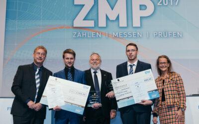 VOLTARIS-Mitarbeiter Axel Hoffmann auf dem Fachkongress ZMP ausgezeichnet