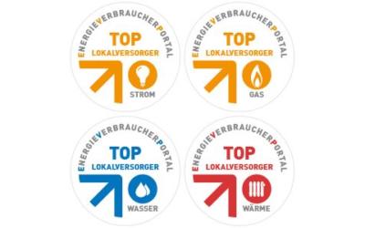 271 EVU erhalten Top-Lokalversorger-Siegel für 2021