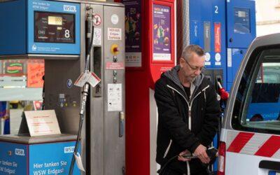 Wuppertaler Stadtwerke bieten Biomethan statt Erdgas als Kraftstoff an