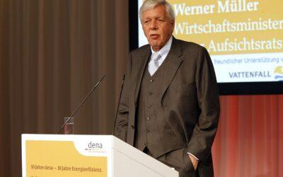 dena trauert um Mitgründer Werner Müller