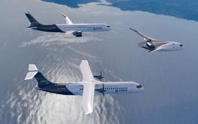 Airbus stellt Konzepte für Wasserstoff-Flugzeuge vor