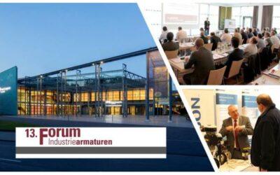 Neuer Termin für das 13. Forum Industriearmaturen