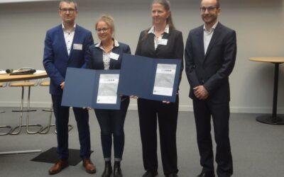 Wissenschaftlerinnen von DBFZ und UFZ mit Biogas-Innovationspreis der Deutschen Landwirtschaft geehrt