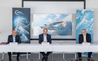 DLR und MTU Aero Engines erforschen Flugantrieb mit Brennstoffzelle